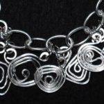 KAN Class - ``Shapes' Bracelet & Earrings
