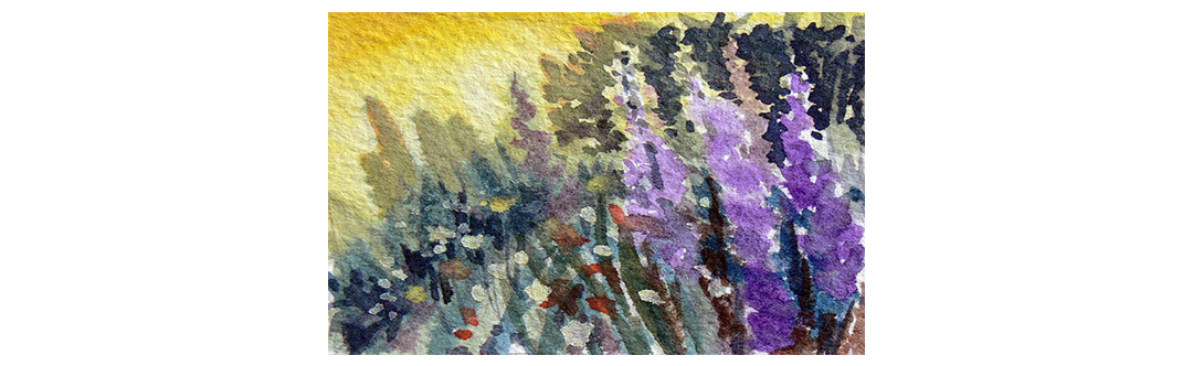 De-mystifying Watercolours with RoseMarie Condon