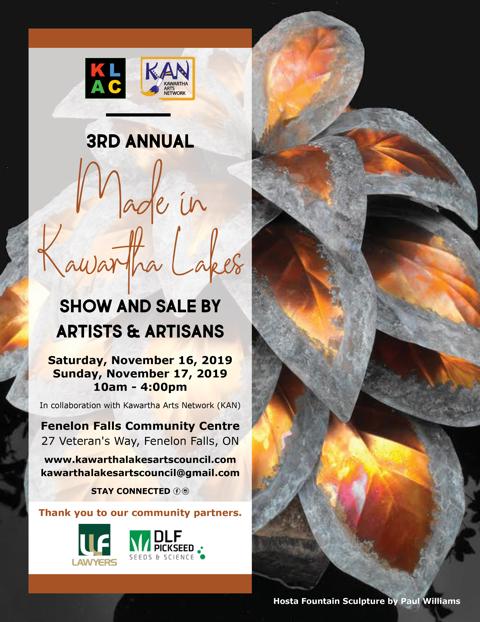 3rd Annual Made in Kawartha Lakes