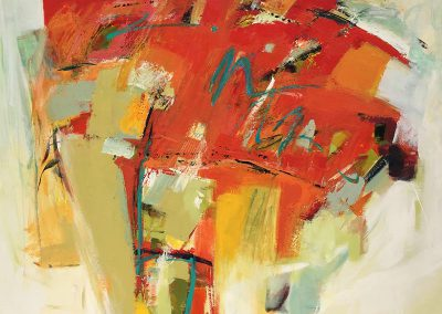 KAN Class 2020 - Abstract Acrylics with Rowena Dykins