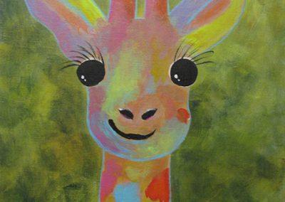 KAN Class 2020 - Childrens Acrylic - Joy McCallister - Giraffe