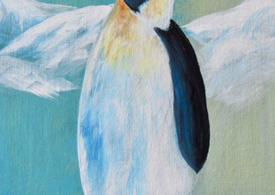KAN Class 2020 - Childrens Acrylic - Joy McCallister - Penguin