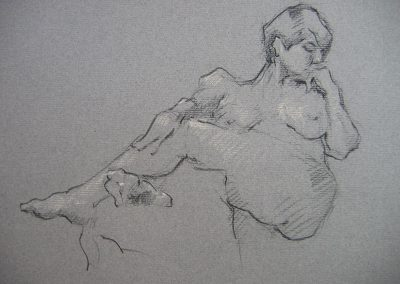 M-J Kelley - Christie (charcoal)