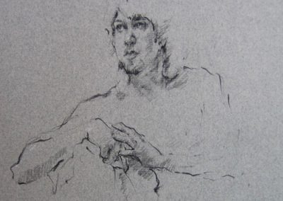 M-J Kelley - Robert (charcoal)