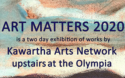 ART MATTERS 2020 at the Olympia