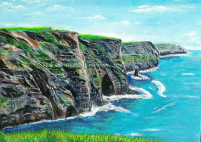 Barb Callaghan - The Wonders of the Cliffs