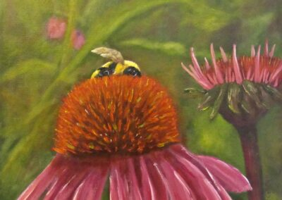 Joy McCallister - Bee-ing There - Alkyds