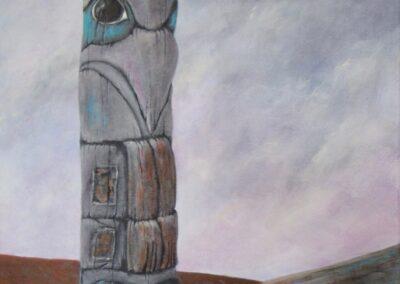 Joy McCallister - Totem - Acrylics